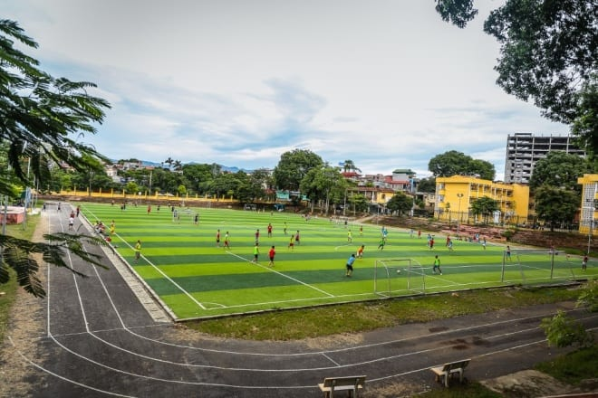 khu thể dục thể thao, đại học Lâm nghiệp