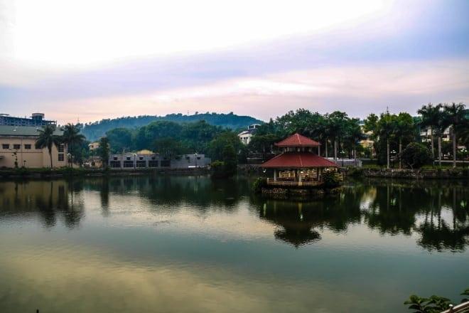 hồ lâm nghiệp, đại học Lâm nghiệp