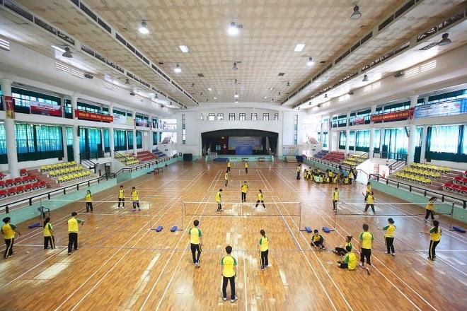 khu thể dục thể thao, học viện Nông nghiệp Việt Nam