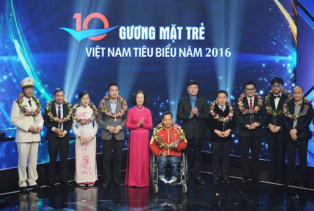 10 Gương Mặt Trẻ Việt Nam Tiêu Biểu Năm 2016, gương mặt trẻ việt nam tiêu biểu, sự kiện, y học dự phòng, đồn biên phòng, vật lý, nông nghiệp