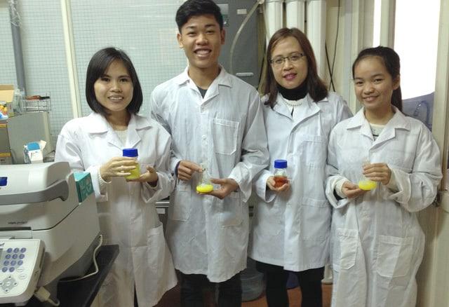 Lê Thị Hiên, nghiên cứu, đặt hàng, doanh nghiệp, Hóa học các hợp chất tự nhiên
