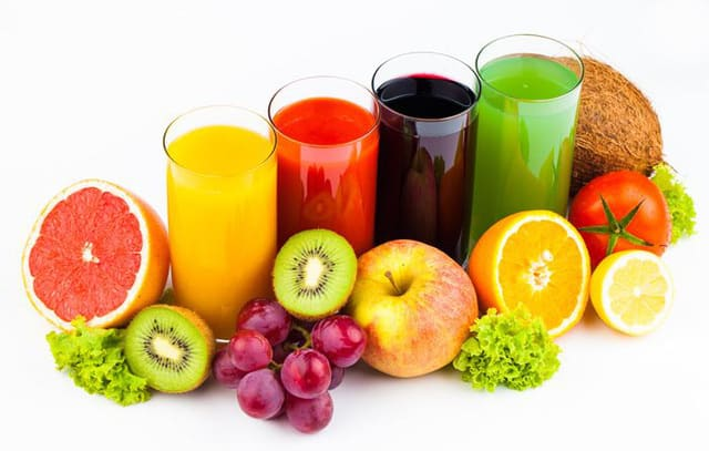 hoa quả, trái cây, sinh tố, vitamin C