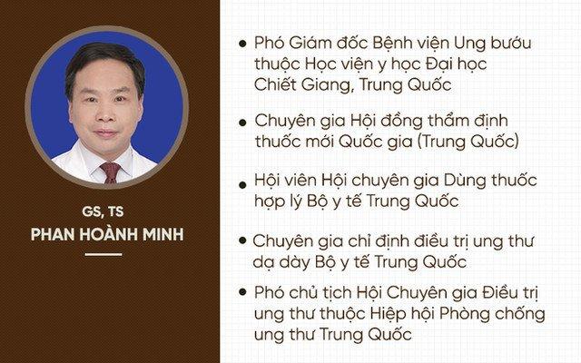 giáo sư, Phan Hoành Minh, ung thư, điều trị