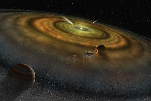 nguồn gốc của nước trên Trái Đất, sao Diêm Vương, nguồn gốc hình thành Trái Đất