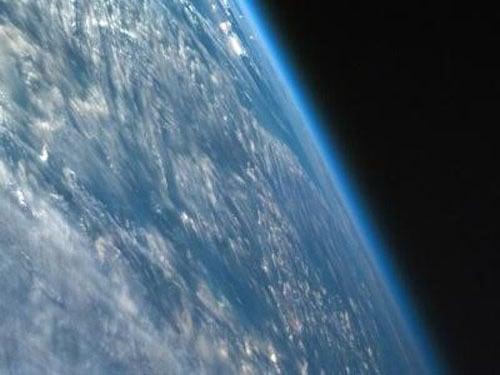 khí quyển của Trái Đất nhìn từ ngoài không gian, NASA, vũ trụ, khoa học vũ trụ