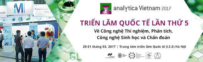 Triển lãm Analytica Việt Nam 2017, Analytica Việt Nam, Analytica Viet Nam