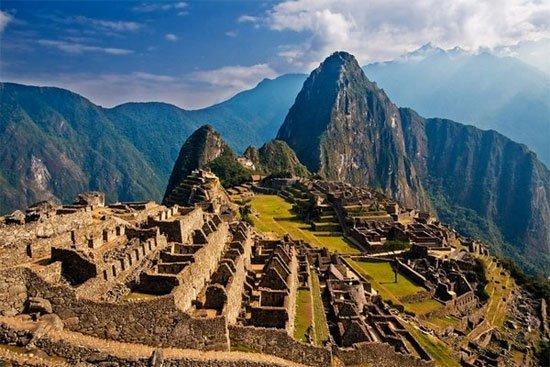 Pháo đài Machu Picchu, Peru, tàn tích Inca