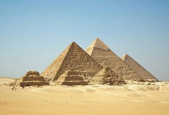 vùng đất bí ẩn, kim tự tháp Giza