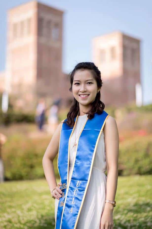 Sao Ly vừa tốt nghiệp ngành Sinh học và Y tiến hóa ở ĐH California