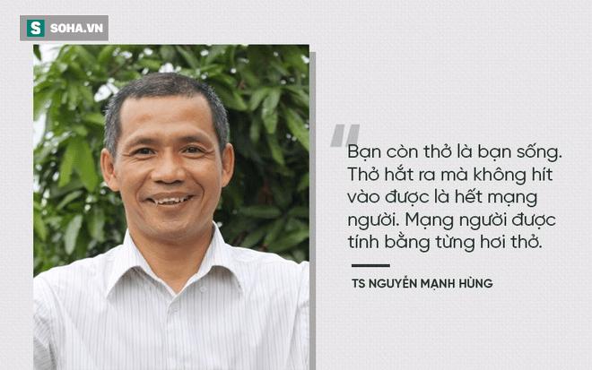 Tiến sĩ Nguyễn Mạnh Hùng, đi ngủ đúng giờ, thở sâu, hít thở, thiền, khí công
