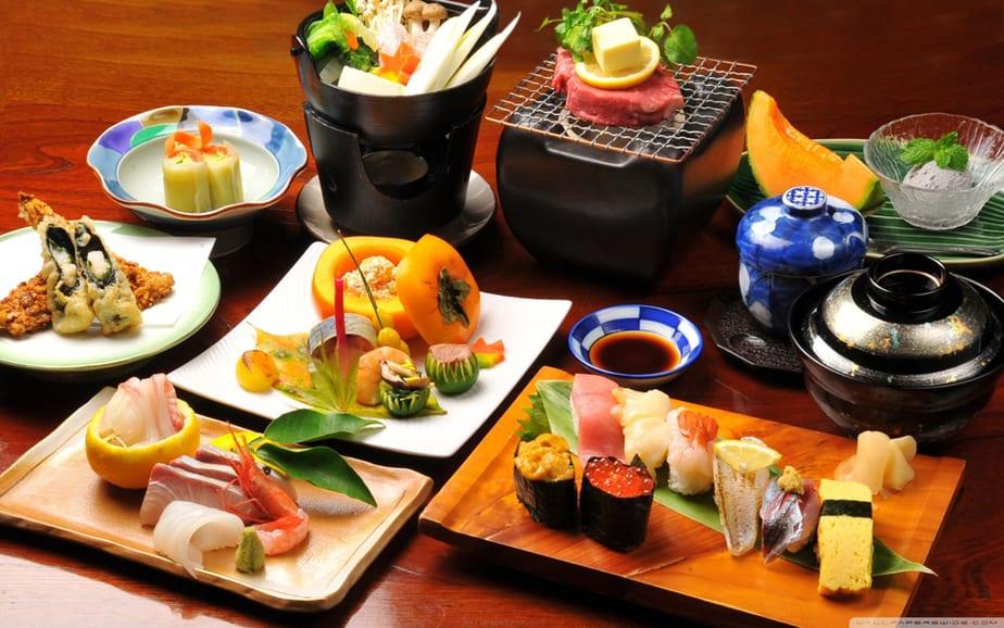 ẩm thực nhật bản, chia nhỏ bữa ăn, bí quyết, làm đẹp, giảm cân