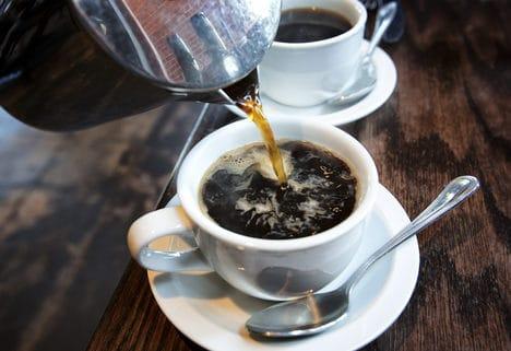 caffeine, cafe, cà phê, căng thẳng, thiếu ngủ, khô mắt