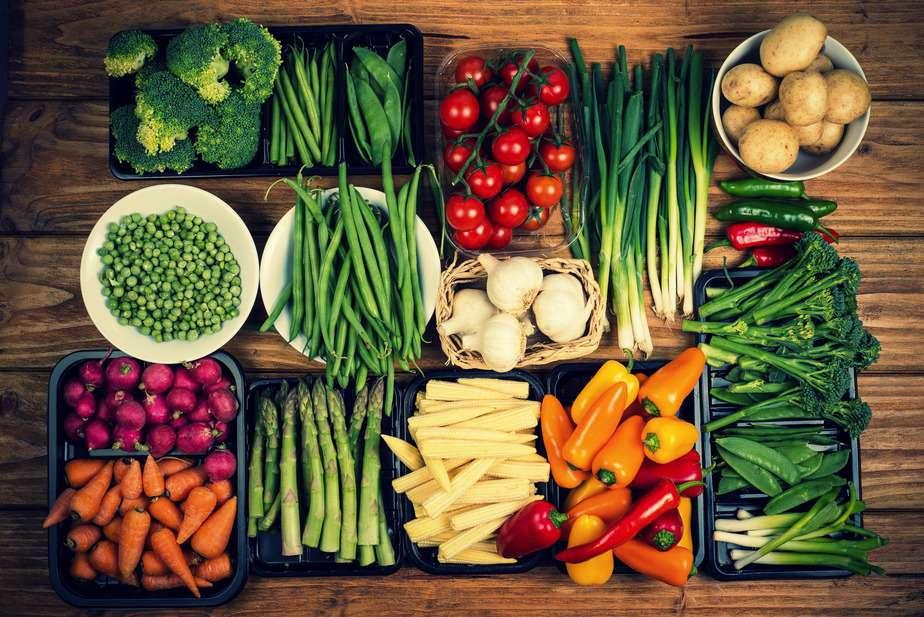 chế độ ăn ít rau quả