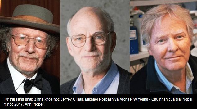3 nhà khoa học người Mỹ