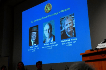 giải Nobel Y học 2017