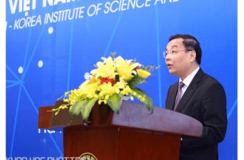 Bộ trưởng Chu Ngọc Anh, Bộ Khoa học và Công nghệ