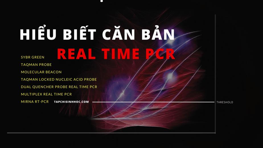 pcr và real-time pcr các vấn đề cơ bản và các áp dụng thường gặp, ứng dụng của real-time pcr, đọc kết quả real time pcr, so sánh pcr và real time pcr, pcr và real time pcr các vấn đề cơ bản, cách đọc kết quả real time pcr, pcr phiên mã ngược, xét nghiệm rt-pcr là gì, real time PCR là gì, PCR định lượng, SYBR green, Taqman probe, molecular beacon, đường chuẩn, RT-PCR, real time PCR