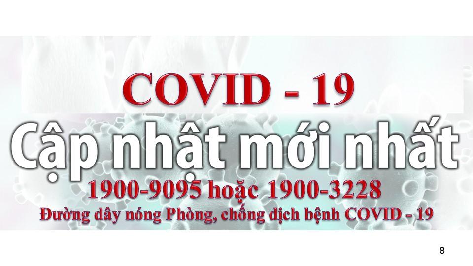 thong tin ve dich benh viem duong ho hap cap Covid-19